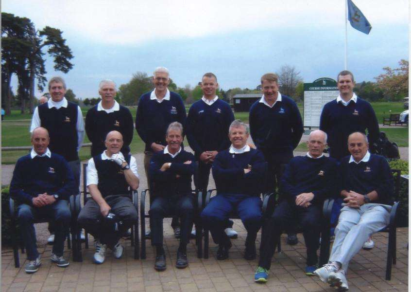 Belton Park C Team are, from left, back - Stewart Boylan, Roy Allen, captain Tony Davies, Robert Pask, Andrew Macgowan and Gary Clark; front - Dave Wing, Neil Gray, Dave Lee, Colin Mason, Ben Bayliss and Ian Carroll.