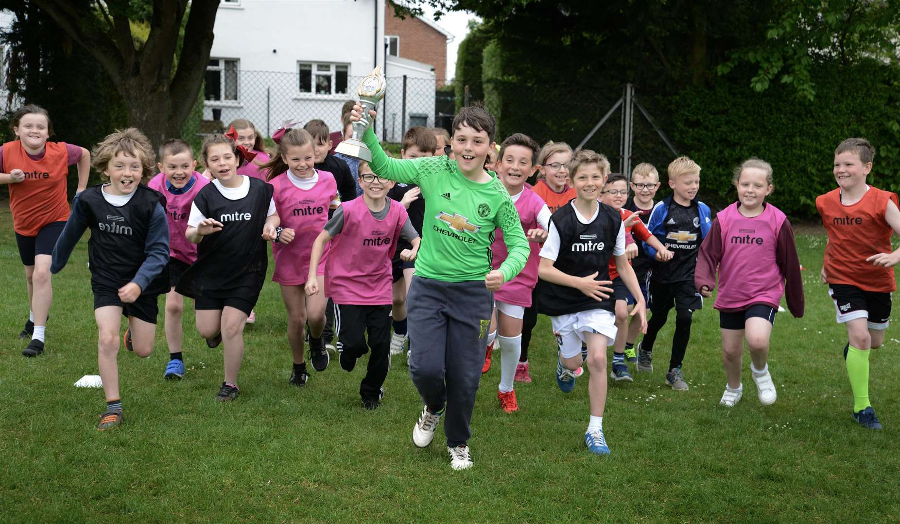 Pupils take part in Togher Trials (2778960)