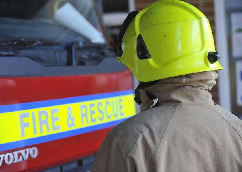 Six fire crews attended the scene in Elveden