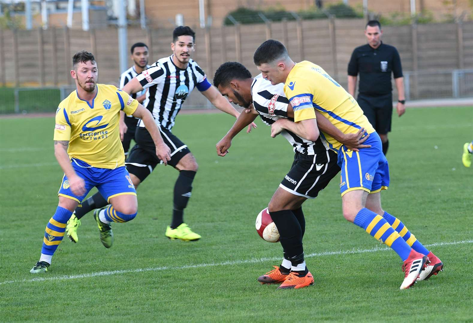 Action from Grantham Town v Warrington Town. Photo: Toby Roberts (5186989)