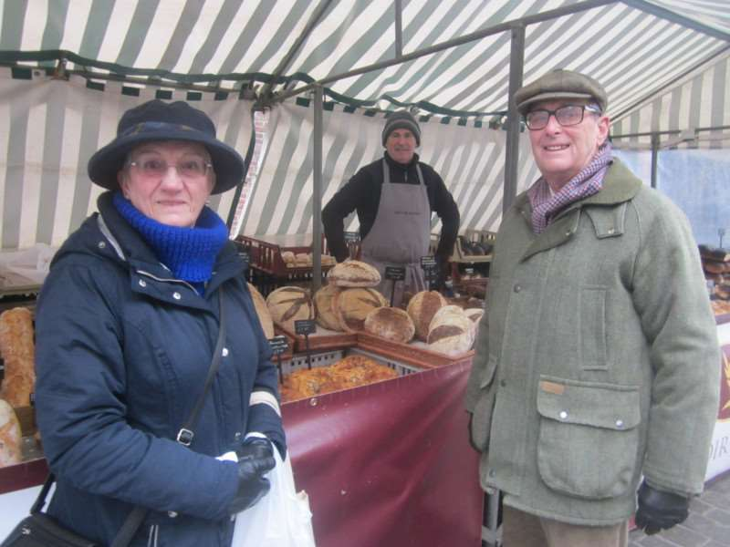 The Hornby's at Grantham Market
