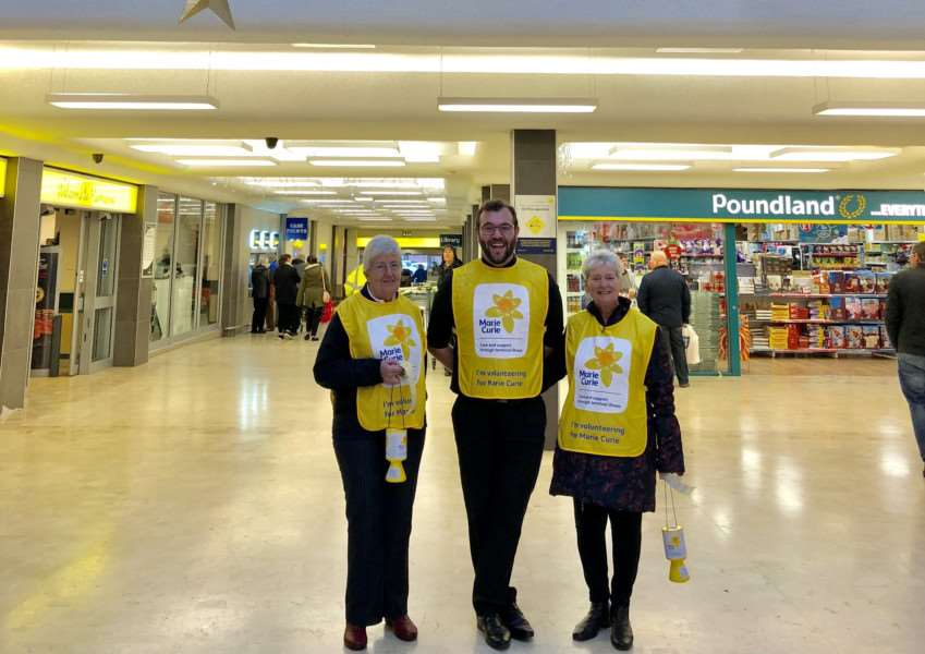 A new group of Marie Curie fund-raisers is being formed in Grantham and is looking for more volunteers.