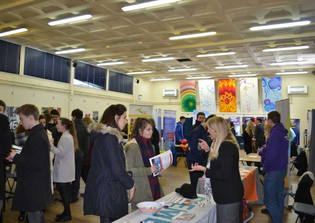Careers fair at Sir William Robertson Academy