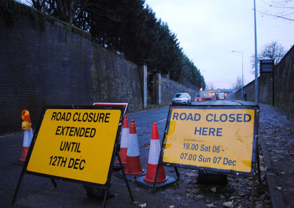 Springfield Road reopens tomorrow.