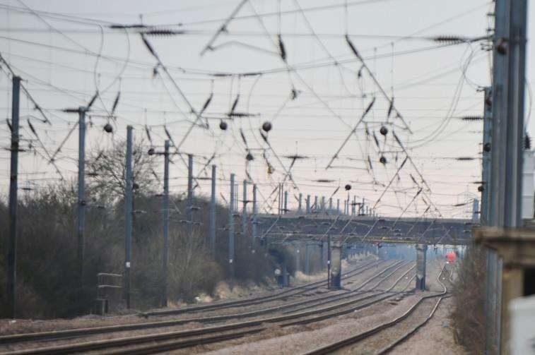 The East Coast main line will be closed between Retford and Peterborough most of this weekend. ENGEMN00120130220151608