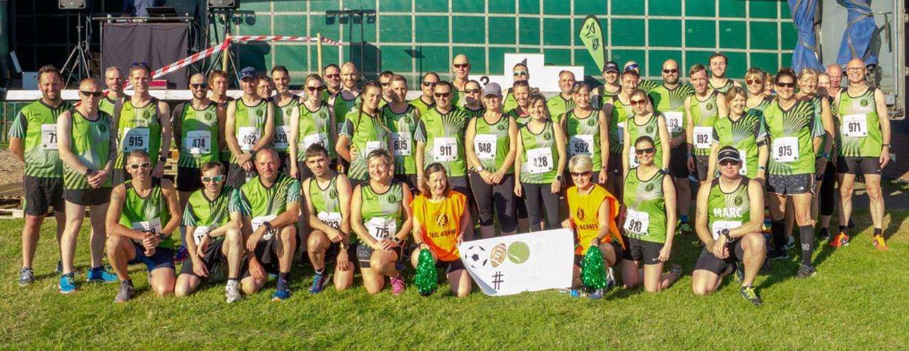 Many of the Grantham Running Club team at Long Bennington. (2757128)