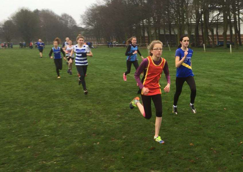 Izzy Hobday leads from the front on the way to a third win and the league title.
