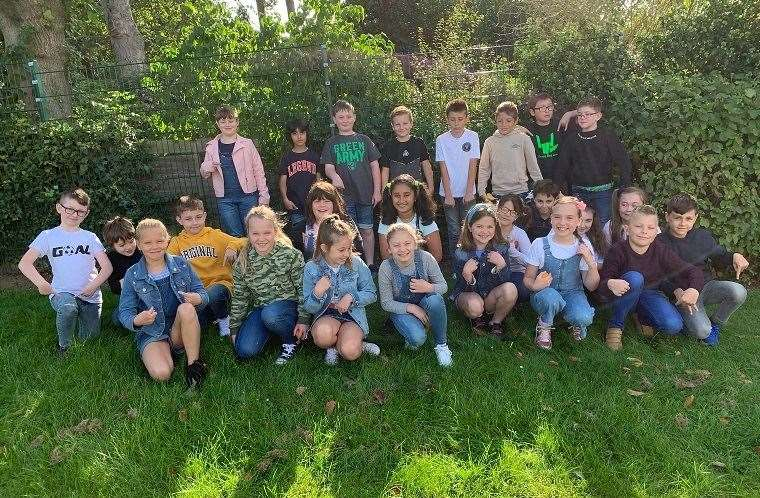 Year 5 took part in Jeans for Genes Day with the rest of St Anne's Primary School in Grantham. (42387407)