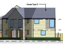 Some of the homes planned for the former Jacko's site on Trent Road.