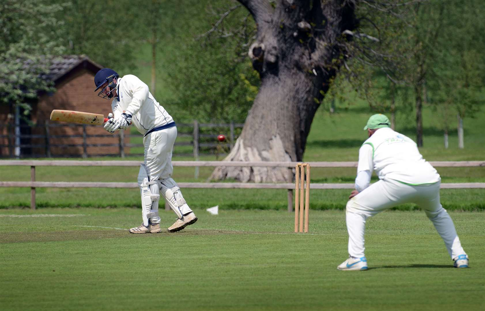 Gareth King notched a knock of 23 for Belvoir 1st XI on Saturday. Photo: Toby Roberts (10428294)