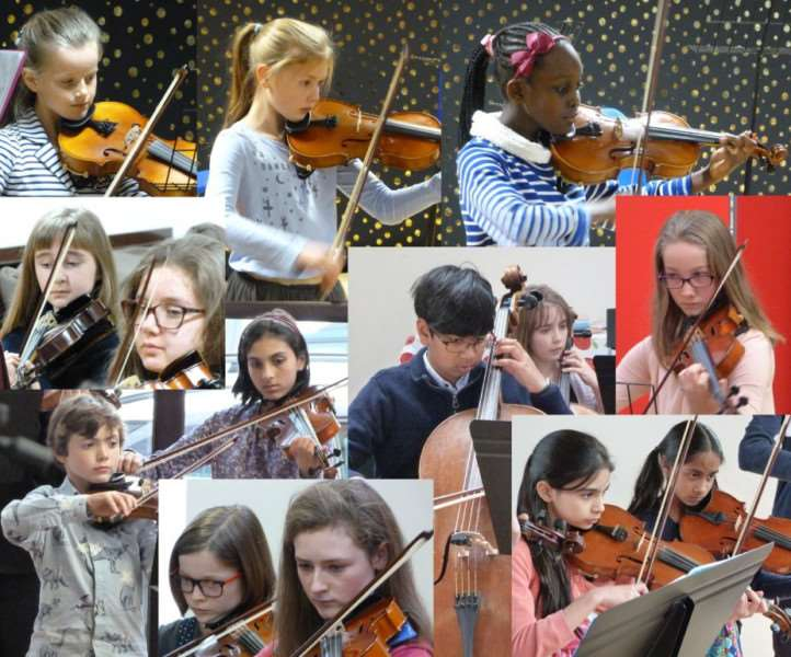 Fourteen local youngsters have been chosen for the National Children's Orchestras 2017.