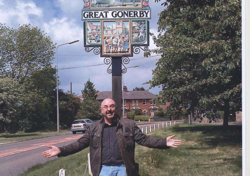 Nick Barrett on a trip back to his birthplace of Great Gonerby.