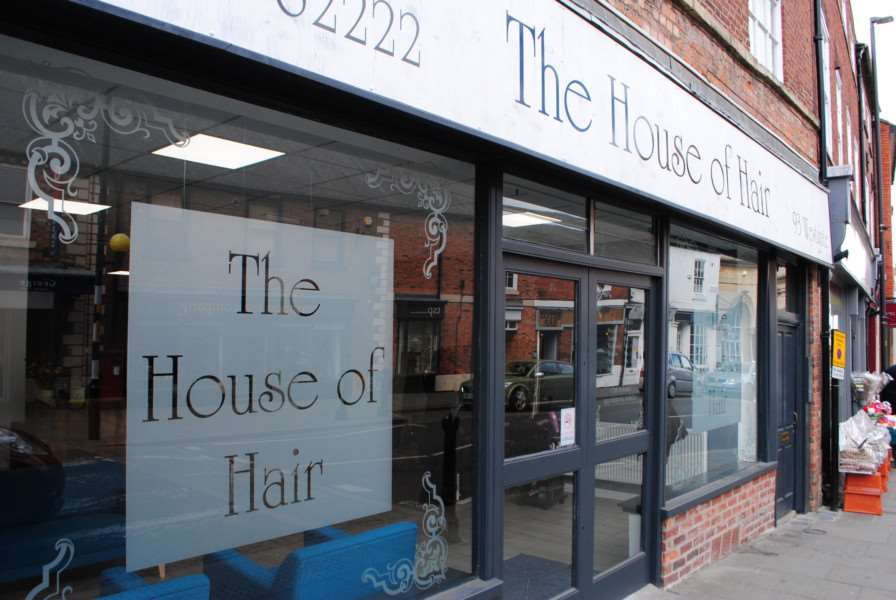 The House of Hair, Westgate, Grantham.