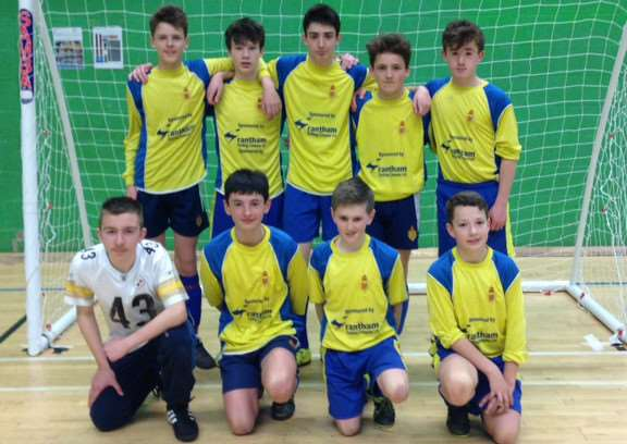 King's School Futsal team are county champions.