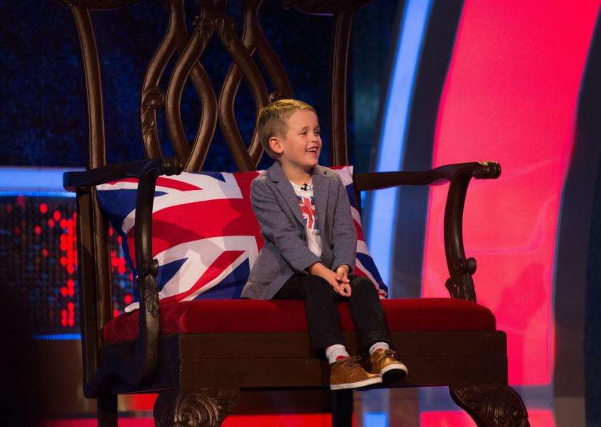Freddie Clarke will appear on ITV's Little Big Shots UK on Sunday. Photos: Wall to Wall