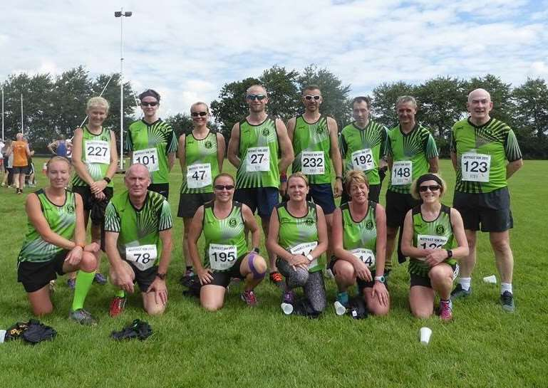 Grantham RC at Notfast Open 10k.
