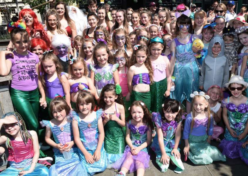 Grantham Carnival parade: Beth Cresswell School of Dance