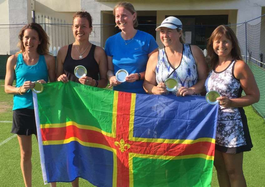 Promoted: Lincolnshire Ladies' Tennis Team