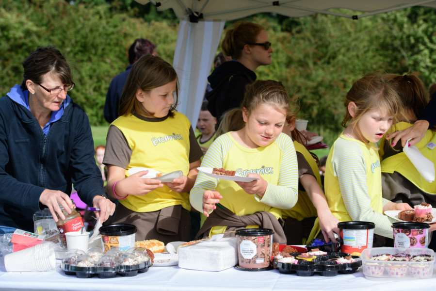 Golf Foundation's Girlguiding Day at Belton Woods Hotel.''Picture: Chris Vaughan Photography EMN-160928-154303001