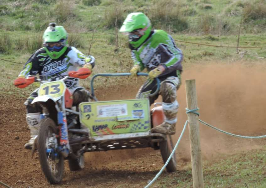 Classic motocross at Sproxton.