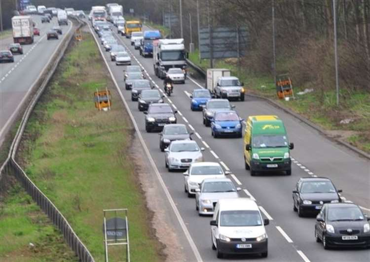 38-mile diversion in place following crash that has blocked