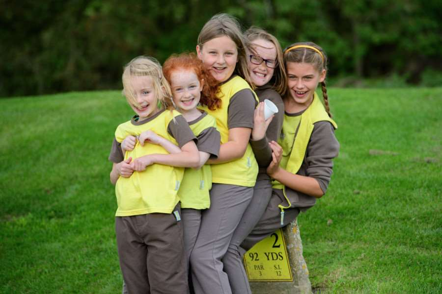 Golf Foundation's Girlguiding Day at Belton Woods Hotel.' Picture: Chris Vaughan Photography EMN-160928-154237001