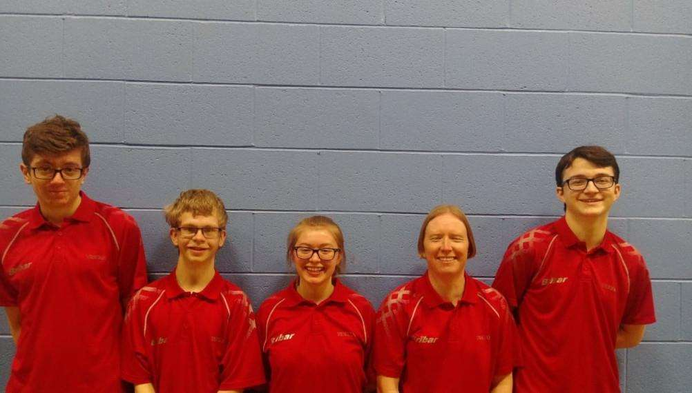 Chandlers C are, from left - Sam Bailey, Trafford Mason, Alexandra Robinson, Kris Sumner and Ben Johnson.