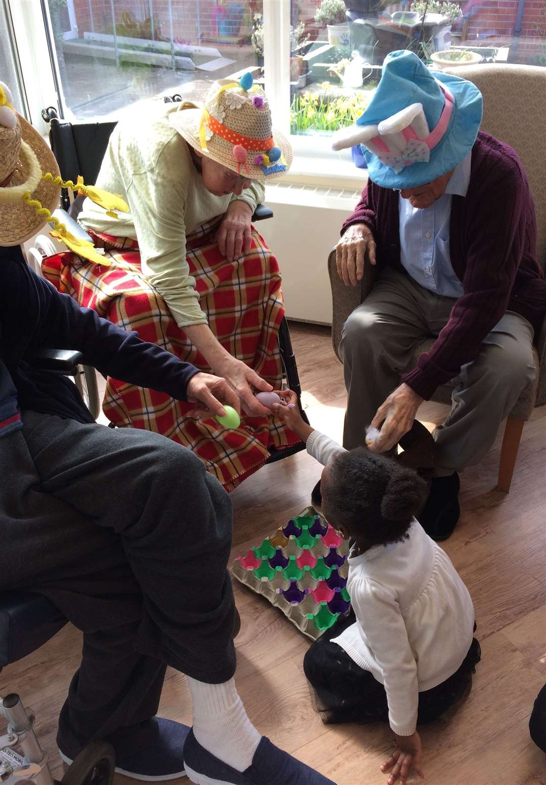 Easter-themed activities at Harrowby Lodge Nursing Home. (8632207)