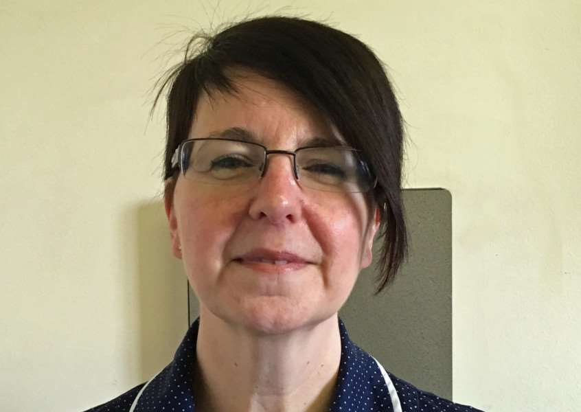 Maxine Hughes - head of operations and clinical services at Grantham Hospital