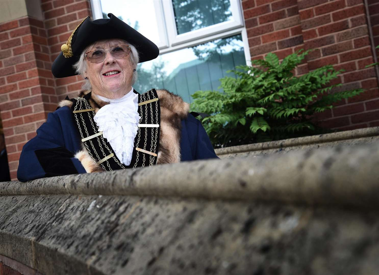 Mayor of Grantham Councillor Lynda Coutts is looking forward to the year ahead. (2317551)