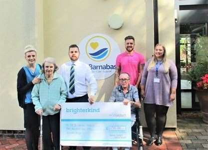St Barnabas Hospice chosen by Grantham care home residents