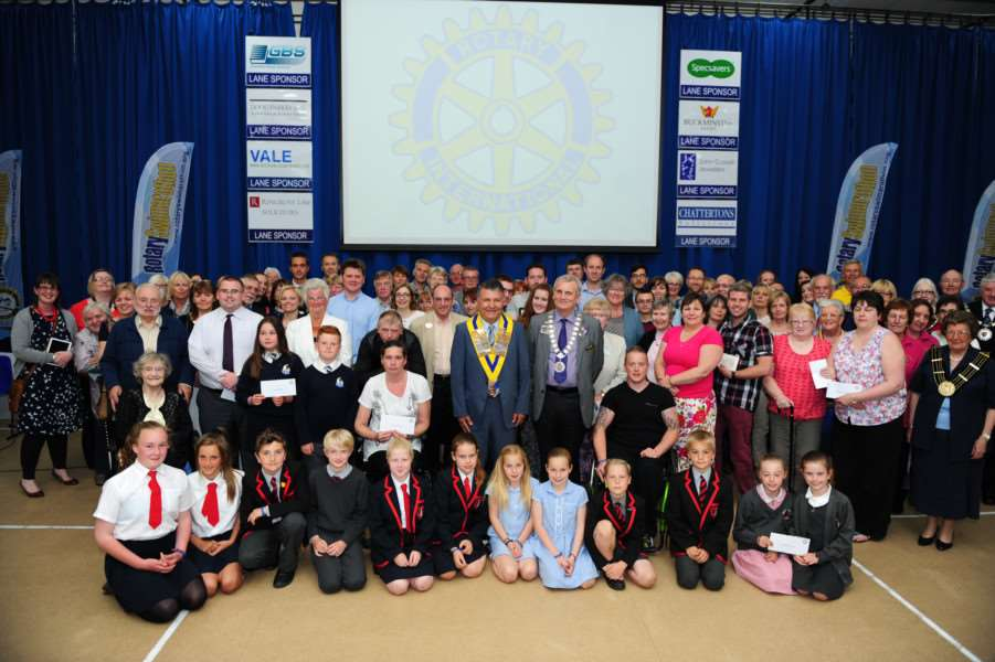 Swimarathon presentation evening. Photo by Toby Roberts.