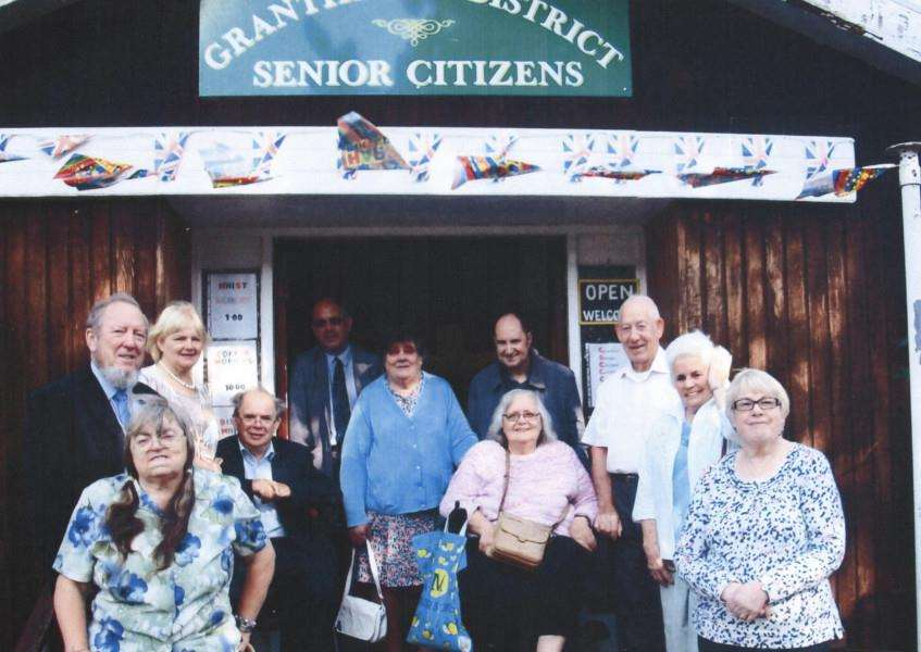 Grantham Senior Citizens celebrate their 50th anniversary.