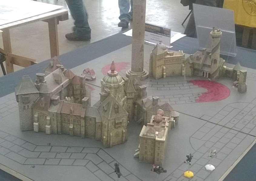 Grantham Strategy and Gaming Club's game was a winner at Salute 2017.