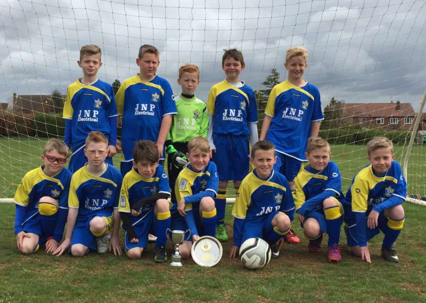 Gonerby Yellows under-10