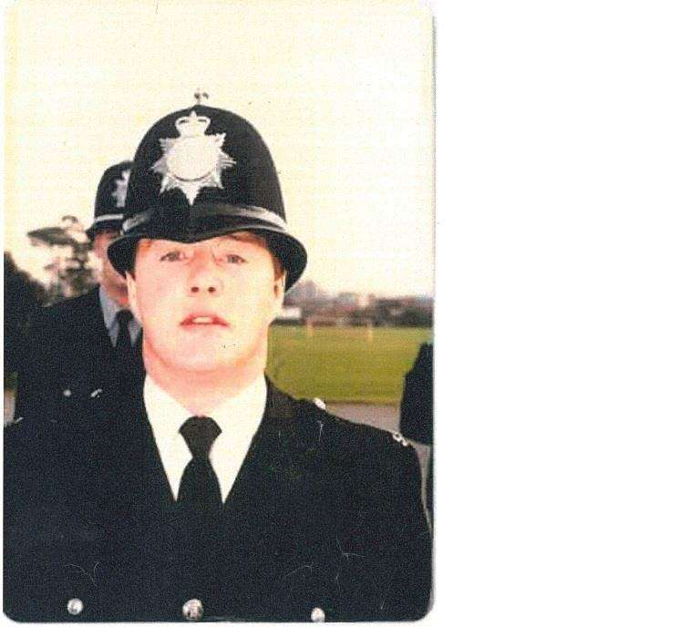 Nigel Storey at his passing out parade in 1988. (4586960)