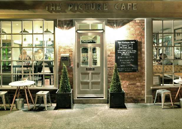 The Picture Cafe in Bingham. The Grantham business will be in the same style.