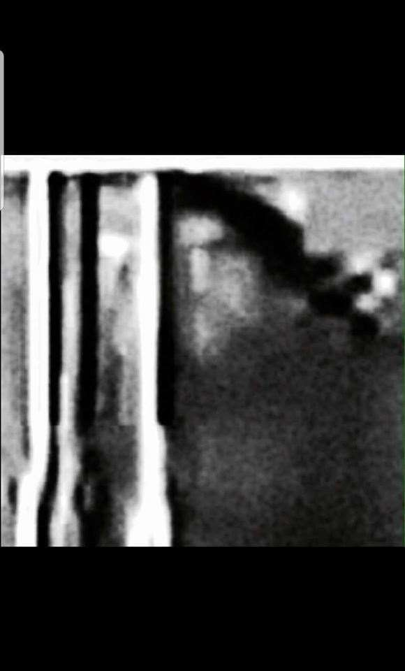 'A ghostly monk' was caught on camera in the cellar. (30198447)