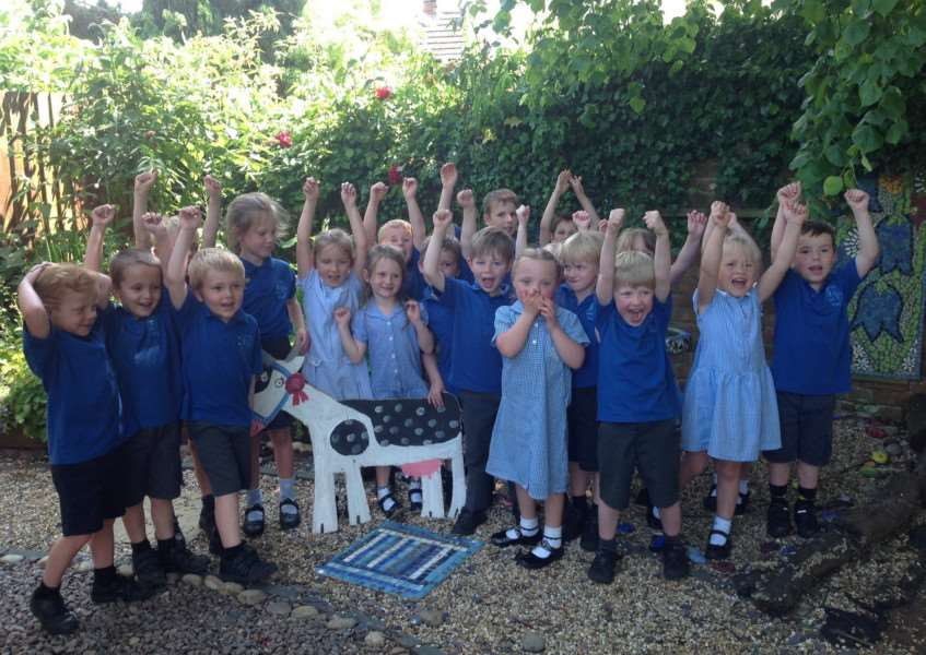 Caythorpe Primary School has been awarded lottery funding to develop their outdoor area.