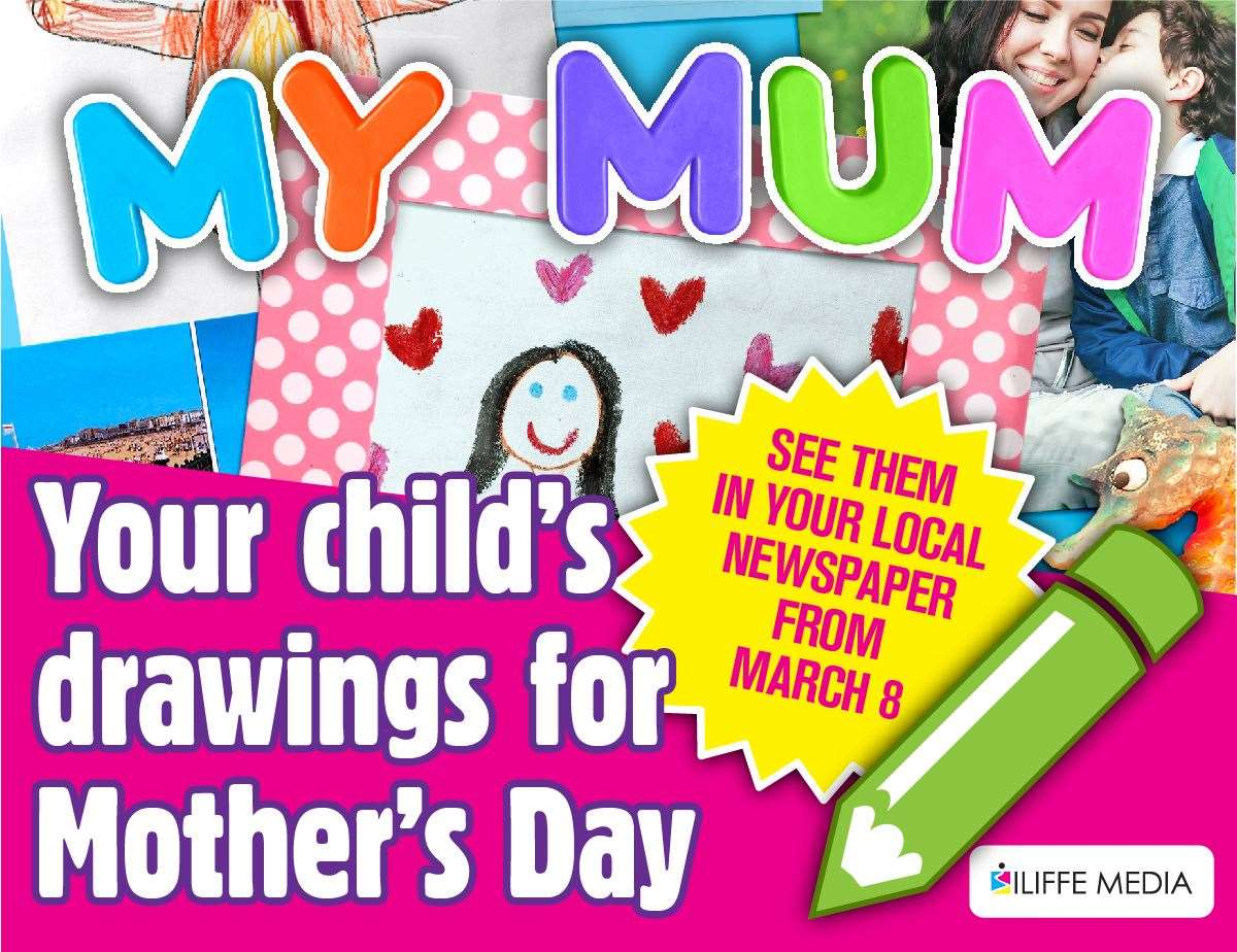 Children can get creative to thank their mums. (44418694)