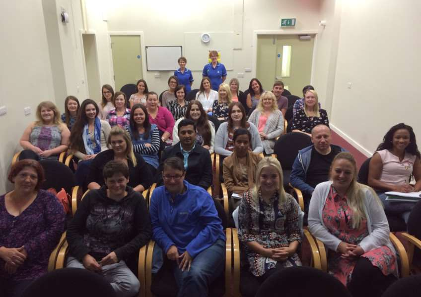 The new nurses joining Boston and Grantham Hospitals.