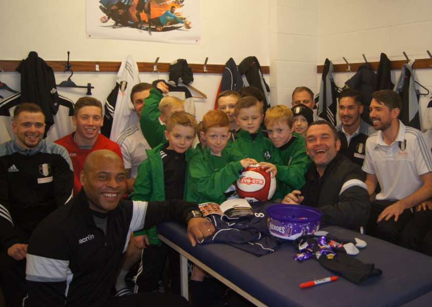 Barrowby Falcons meet the Gingerbreads