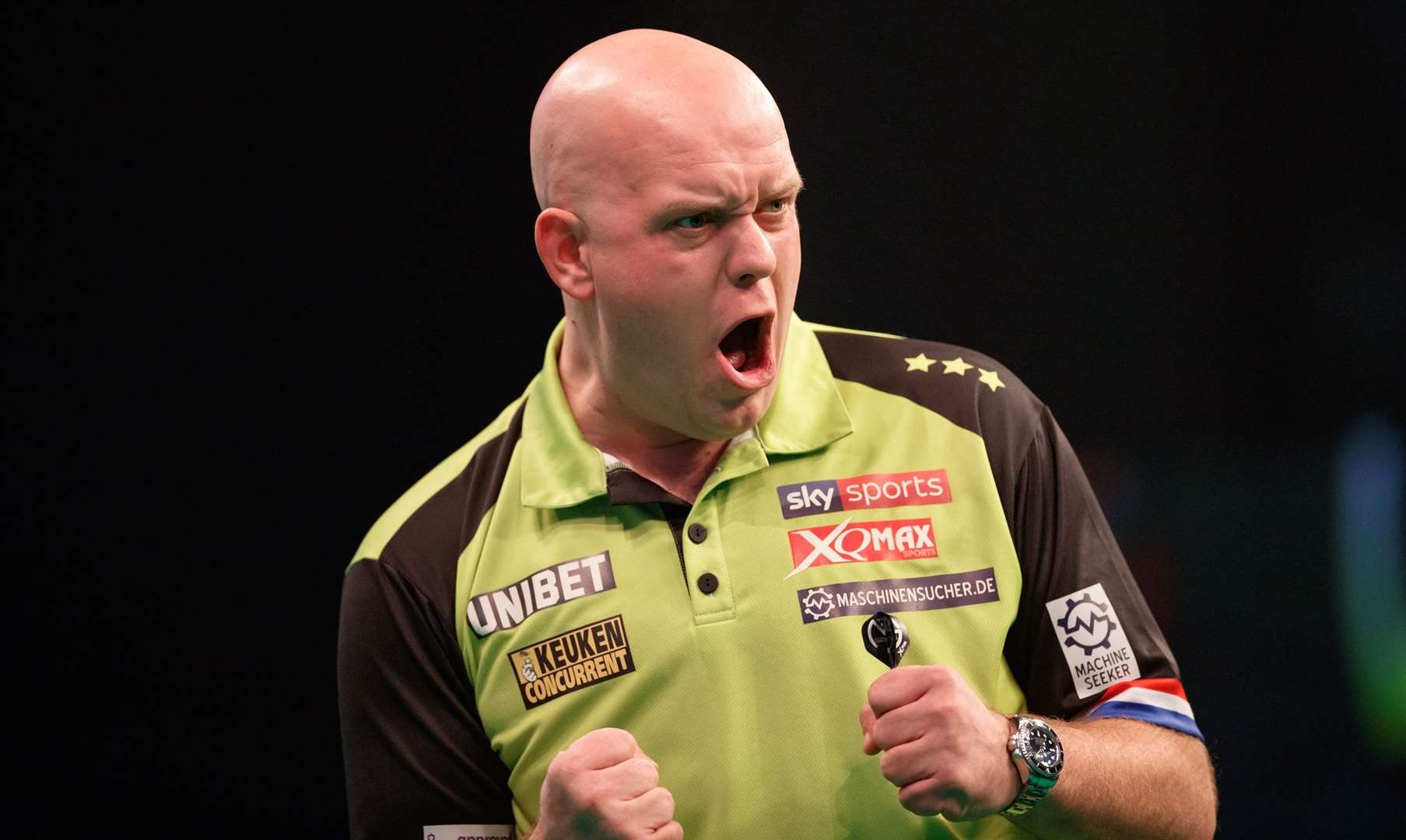 Michal van Gerwen will be playing at The Meres leisure centre later this year. (13593855)