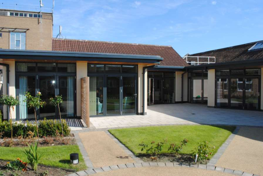 'Hospice in a hospital' in Grantham
