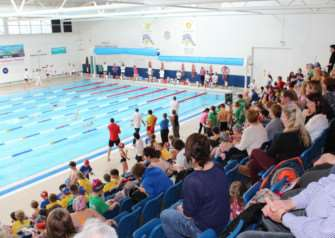 Sainsbury's School Games Winter Festival at The Meres in Grantham.