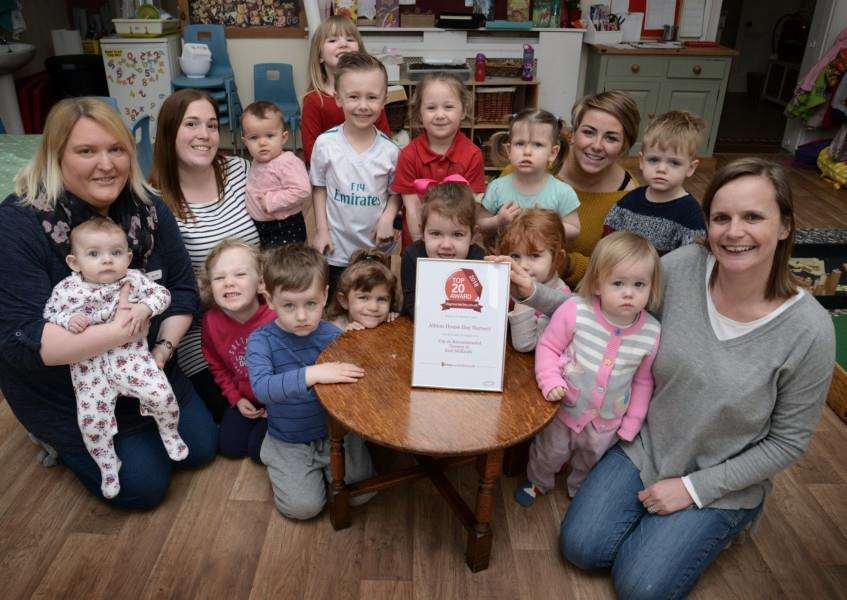 Albion House Day Nursery has been recommended as one of the top 20 nurseries in the East Midlands.