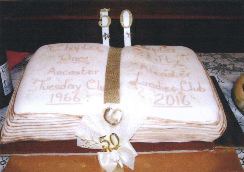 Ancaster Ladies Club is 50 years old.