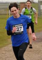 William Parkin finished second in the latest Newark Parkrun.