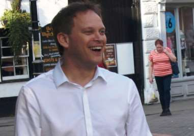 Grant Shapps stopped off for a walk about and chat with our team of journalists