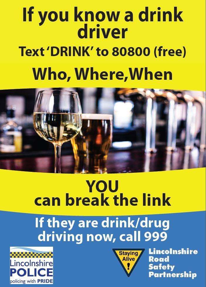 Lincolnshire Police's campaign against drink and drug driving. (2802219)